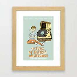 The Perks of Being a Wallflower Framed Art Print