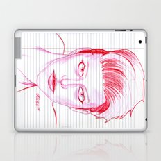 Fashion Hair with Loose Leaf Flair Laptop & iPad Skin