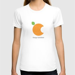 Orange Calculators: A Day Late and A Dollar Short T-shirt