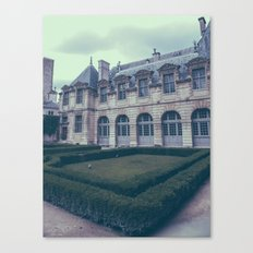 French Garden Maze III Canvas Print