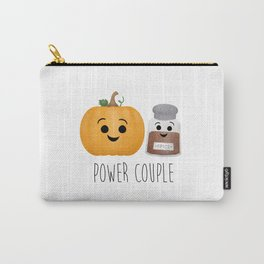 Pumpkin + Spice = Power Couple Carry-All Pouch