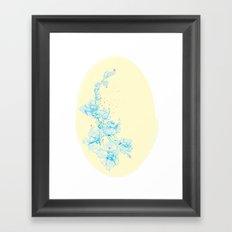 Bleeding Orchid Framed Art Print