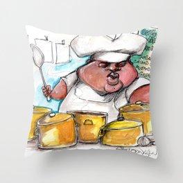 Skinnu secondline Throw Pillow