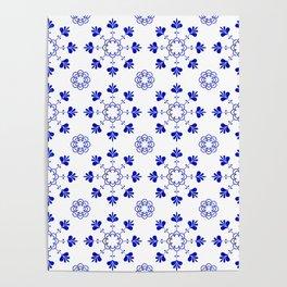 blue morrocan dream no2 Poster