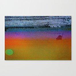 Vice Sunset Canvas Print