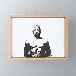 All eyez on me Framed Mini Art Print