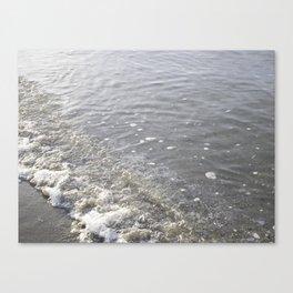 Wave Kits Beach Vancouver Canvas Print