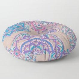 Colorful Mandalas Floor Pillow