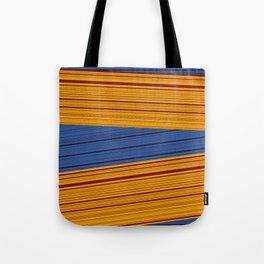 Sunrise Spot Weave Tote Bag