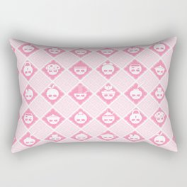 The Nik-Nak Bros. Strawbury Milk Rectangular Pillow