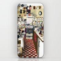 kitchen iPhone & iPod Skins featuring Kitchen by Hanne De Brabander
