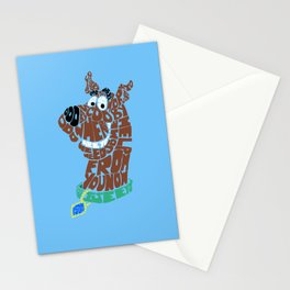 scooby Stationery Cards