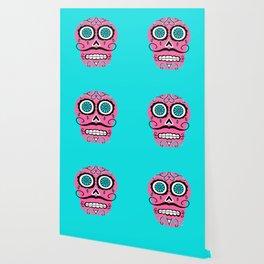 Dia De Los Muertos Sugar Skull - Angel Wallpaper