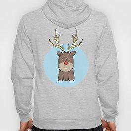 Cute Kawaii Christmas Reindeer Hoody