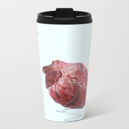 Heart Metal Travel Mug