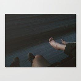 Arizona Freight Riding Canvas Print