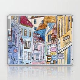 Sketchy City Laptop & iPad Skin
