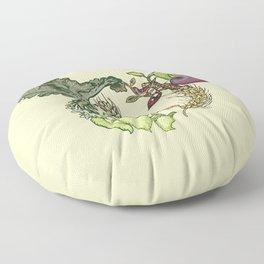 Botanical Pig Floor Pillow