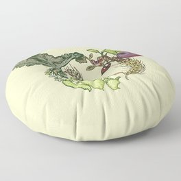 Botanical Pig Floor Pillow