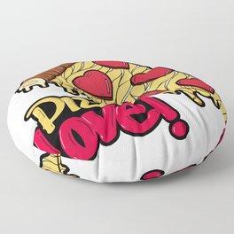 Pizza Love Floor Pillow