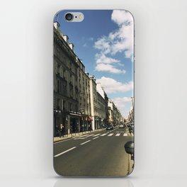 Sunny Day in Le Marais iPhone Skin