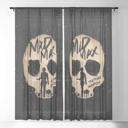 Mad Max the road warrior art Sheer Curtain