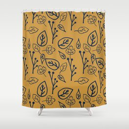 Forest Floor Pop Shower Curtain