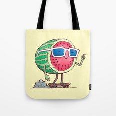 Watermelon Skater Tote Bag