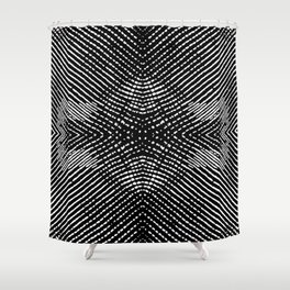 Frost Design Studio - Line Pattern Shower Curtain