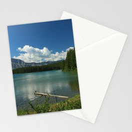 Two Jake Lake Stationery Cards