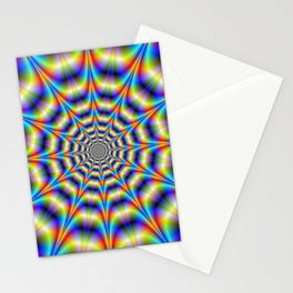 Psychedelic Wheel Stationery Cards