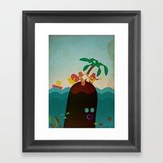 i s o l a n o Framed Art Print