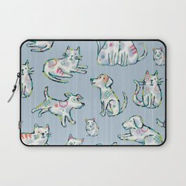 Dogs and Cats Laptop Sleeve