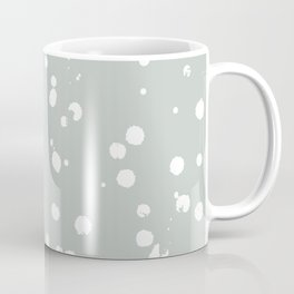 Rainwashed White Spots Coffee Mug