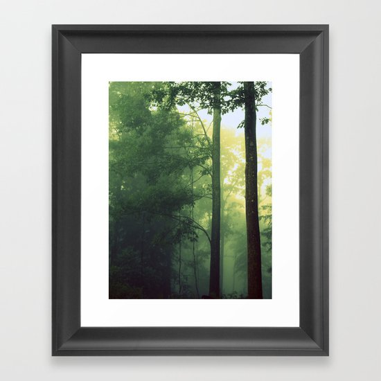 Is This The Place From My Dreams? Framed Art Print