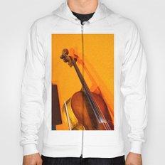 Violin on the Floor Hoody