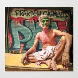 Holi India Canvas Print