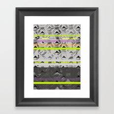 Tri Lands Framed Art Print