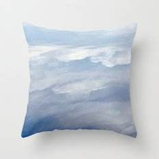 Cloudy Reflection Throw Pillow