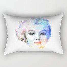 The Blond Bombshell Rectangular Pillow