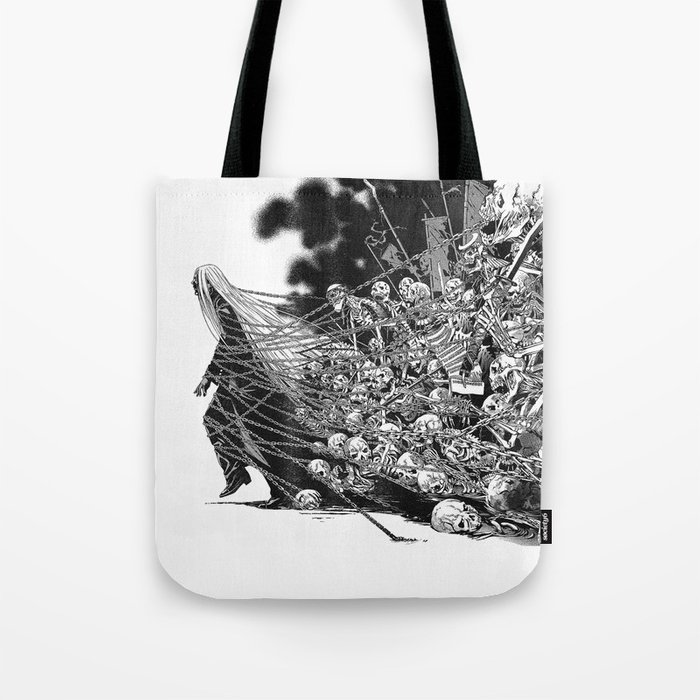 Scary Soul Tote Bag