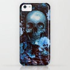 Skull and Flowers iPhone 5c Slim Case