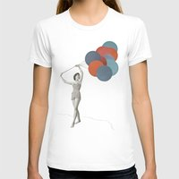 balloons T-shirts featuring Balloons by Cassia Beck