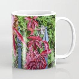 Nature Autumnal Red Vines Coffee Mug