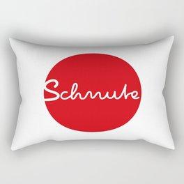 Schnute - german 4 lips, mouth, Duckface Rectangular Pillow
