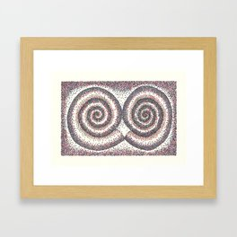 Kera Damo 016 Framed Art Print