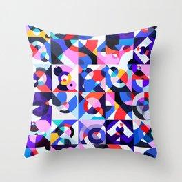 Kleurstaal Throw Pillow
