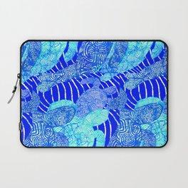 blue sea turtles Laptop Sleeve