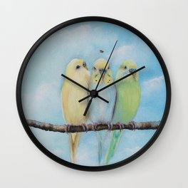 One Spring Day Wall Clock