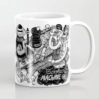 cookies Mugs featuring Cookies Machine by MrCapdevila / Bingo